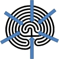 Graphic of Labyrinth Winding Inward