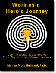 Book Cover - Work as a Heroic Journey